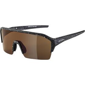 Alpina Ram HR HM+ Glasses, black blur matt/red mirror